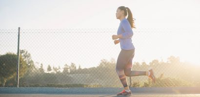 Woman running | Get Gritty Nutrition