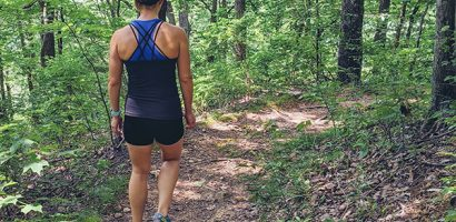 Woman hiking | Get Gritty Nutrition