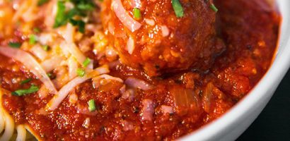 Spaghetti and meatballs | Get Gritty Nutrition