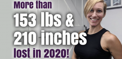 More than 153 lbs lost | Get Gritty Nutrition