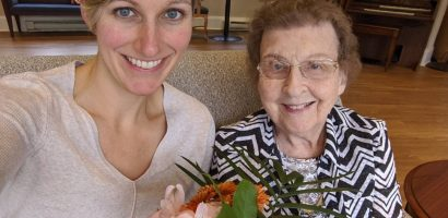 Woman with grandmother | Get Gritty Nutrition