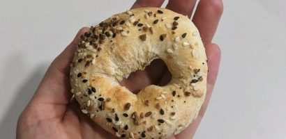 Everything bagel | Get Gritty Nutrition