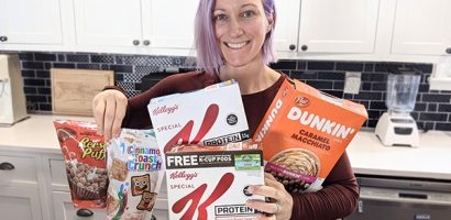 Woman with cereal | Get Gritty Nutrition