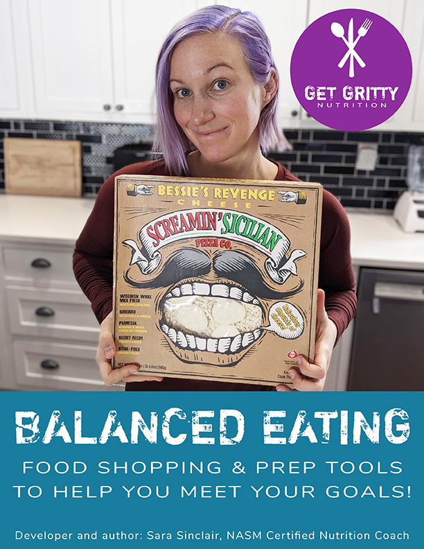 Balanced Eating Guide   Get Gritty Nutrition
