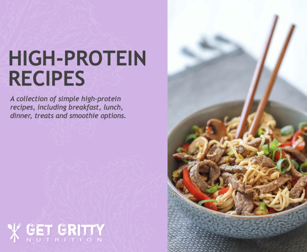 High protein recipes   Get Gritty Nutrition