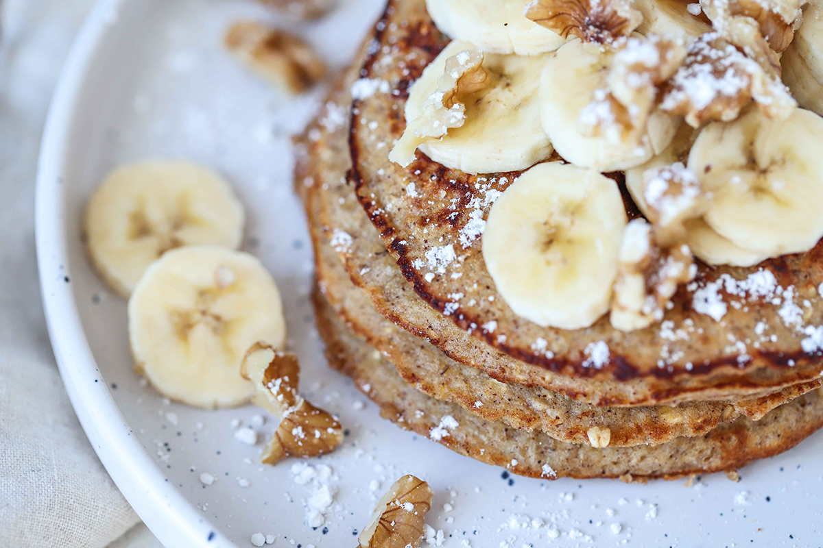 Protein pancakes   Get Gritty Nutrition